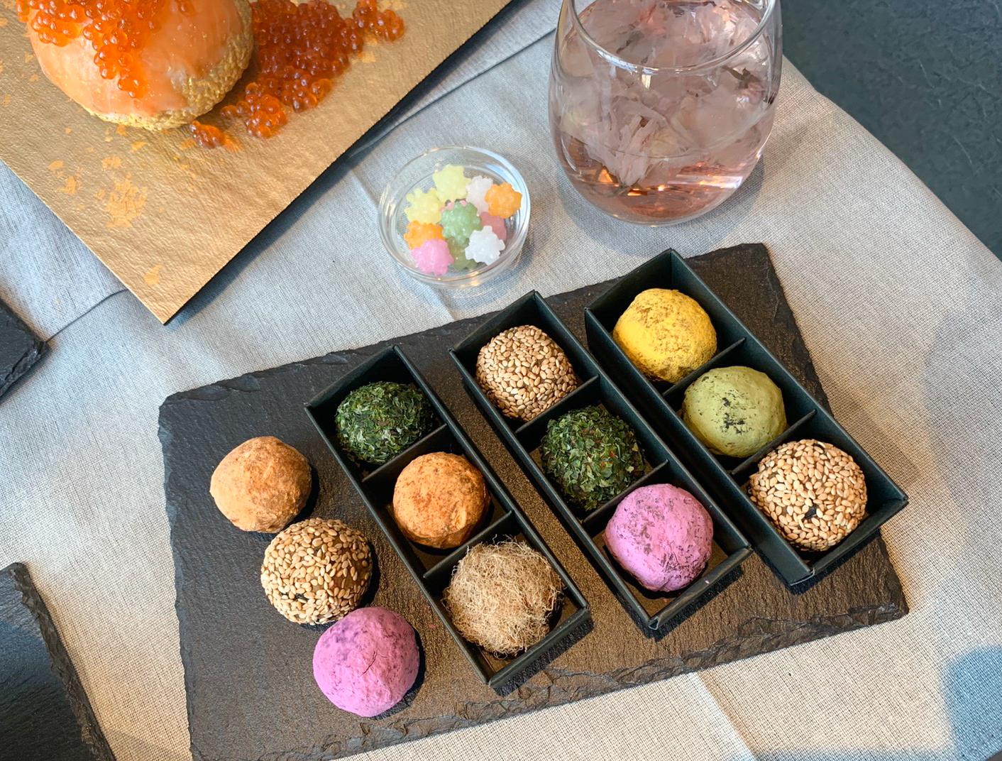 体験型Dining「和色 ‐WASHOKU- 」の先行試食会にて(2019年11月18日:PRINCESS ONLINE編集部)