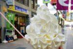 生クリームとソフトクリームたっぷり!「生クリームパラダイス」を堪能❤【パフェ&クレープ ハルハル】